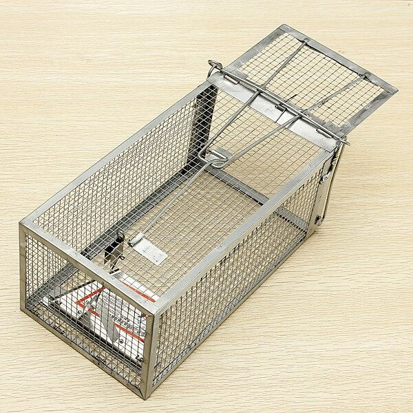 Outdoor & Garden - Reusable Hamster Cage Mice Rat Control - Home Improvement