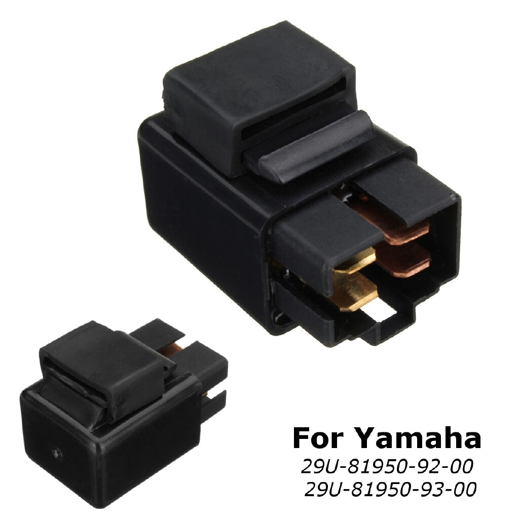 Engine Parts - Starter Relay Solenoid Replacement For Yamaha 29U-81950-92-00 29U-81950-93-00 - Car Replacement