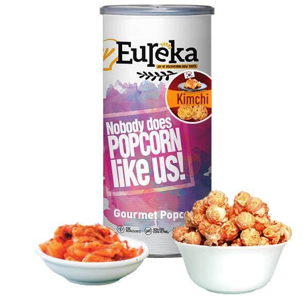 Eureka Korea Kimchi Popcorn Snack (Paper Can) *New Arrival