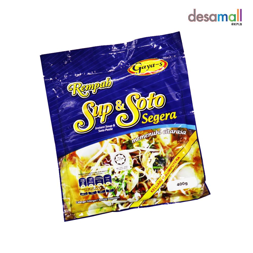 GAYA'S Rempah Sup & Soto Segera (400g)