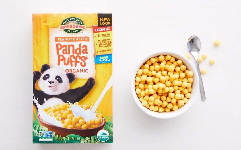 Natures Path Panda Puffs 300G - Twin Pack