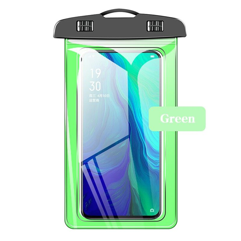 Lowest Price Universal Waterproof Phone Case Bag for Under 7inch Mobile Phone - BLACK / WHITE / BLUE / PINK / GREEN /PINK