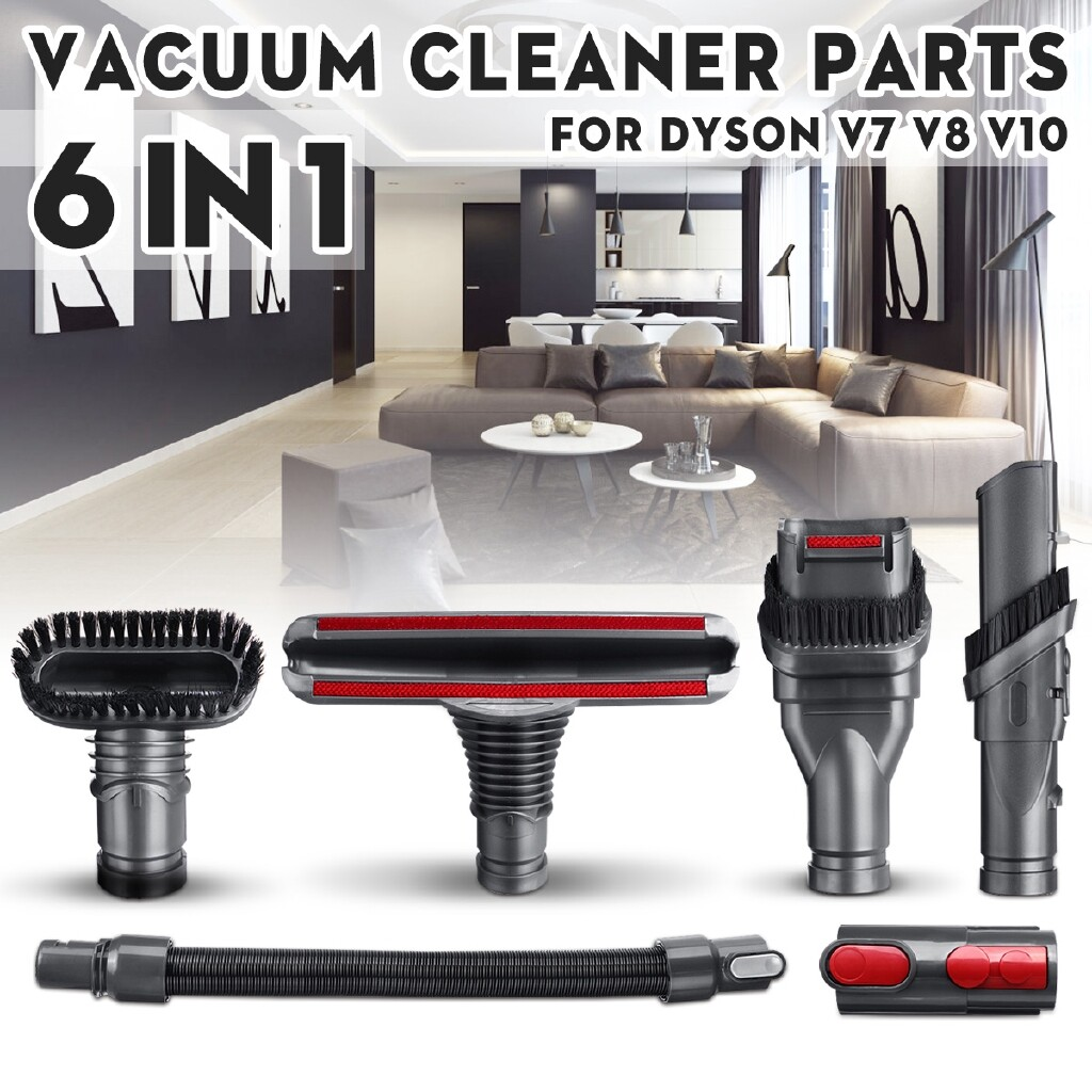 DIY Tools - Vacuum Cleaner Crevice Brush Hose Kit For Dyson DC35/45/52/58 V10 - Home Improvement