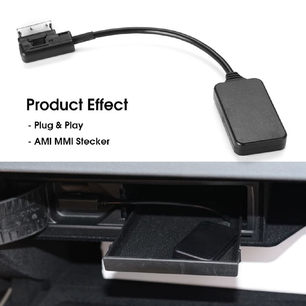 Car Radios - WIRELESS Interface BLUETOOTH Music Adapter AUX Cable For Mercedes-Benz AMI MMI - Electronics