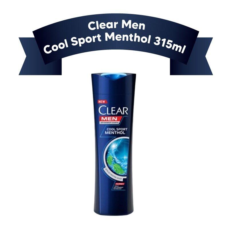 CLEAR Men COOL SPORT MENTHOL Anti-dandruff shampoo 315ml
