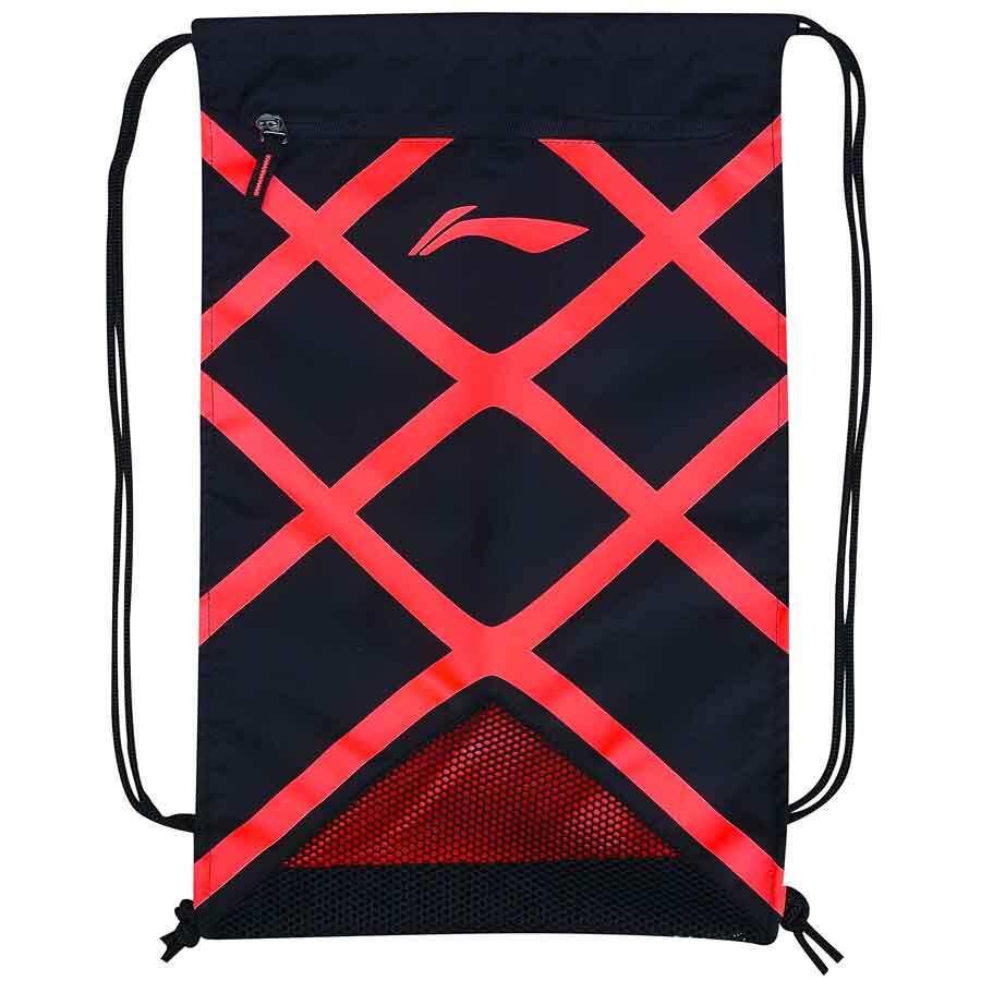 Li-Ning Racquet Shoes Bag - Black/Neon Orange ABJM148-2