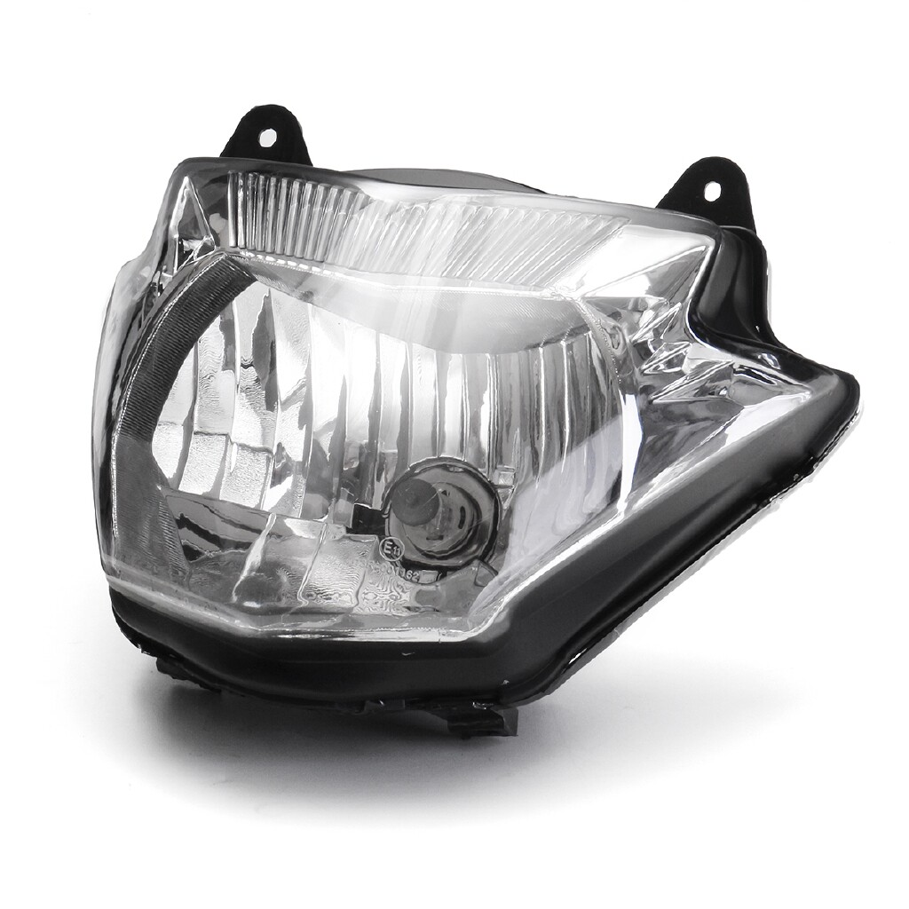 Moto Accessories - Motorcycle Headlight Head Lamp Light Fairing Assembly For Yamaha YBR125 2014-17 - Motorcycles, Parts