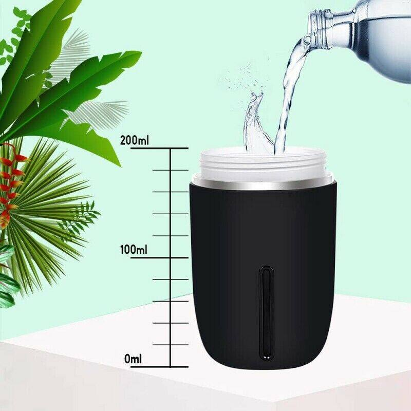 Mini USB Air Humidifier Aroma Diffuser Car Essential Oil Air Purifier with LED