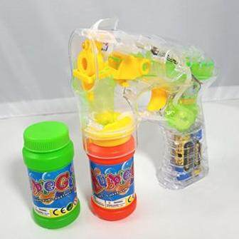 Kids Toy Automatic LED Light Bubble Gun Toys for boys