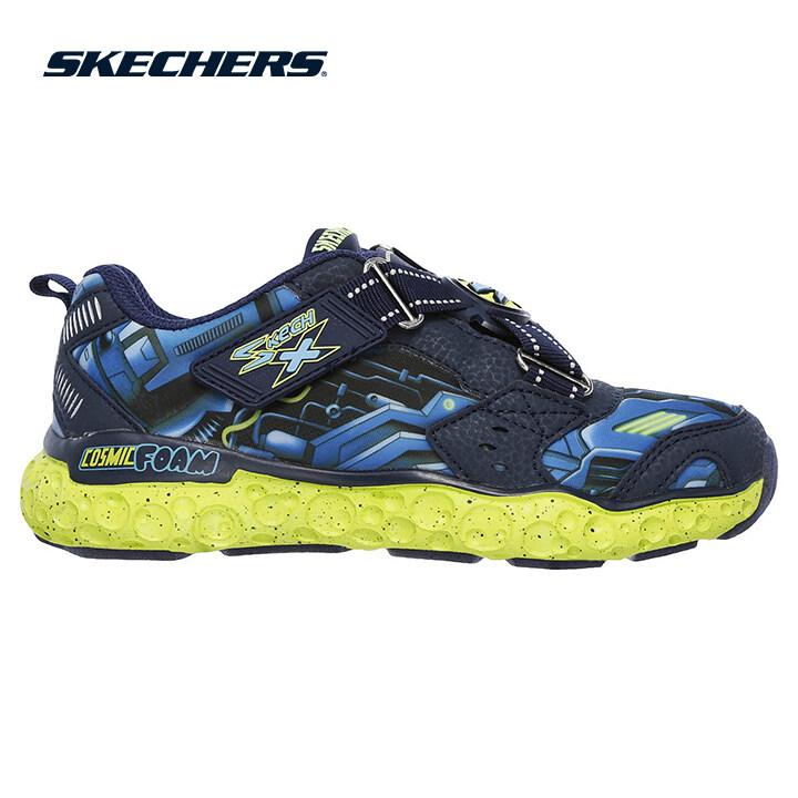 Skechers Cosmic Foam Boys Lifestyle Shoe - 97502L-NVLM