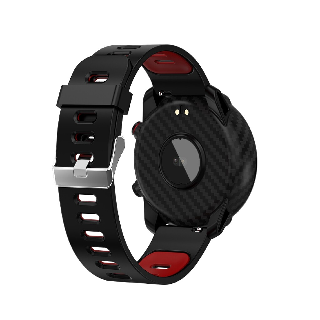 Smart Watch - S10 Full Touch HD Screen IP68 Wristband Blood Pressure and Oxygen Monitor Weather Display - BLACK / BLUE / RED