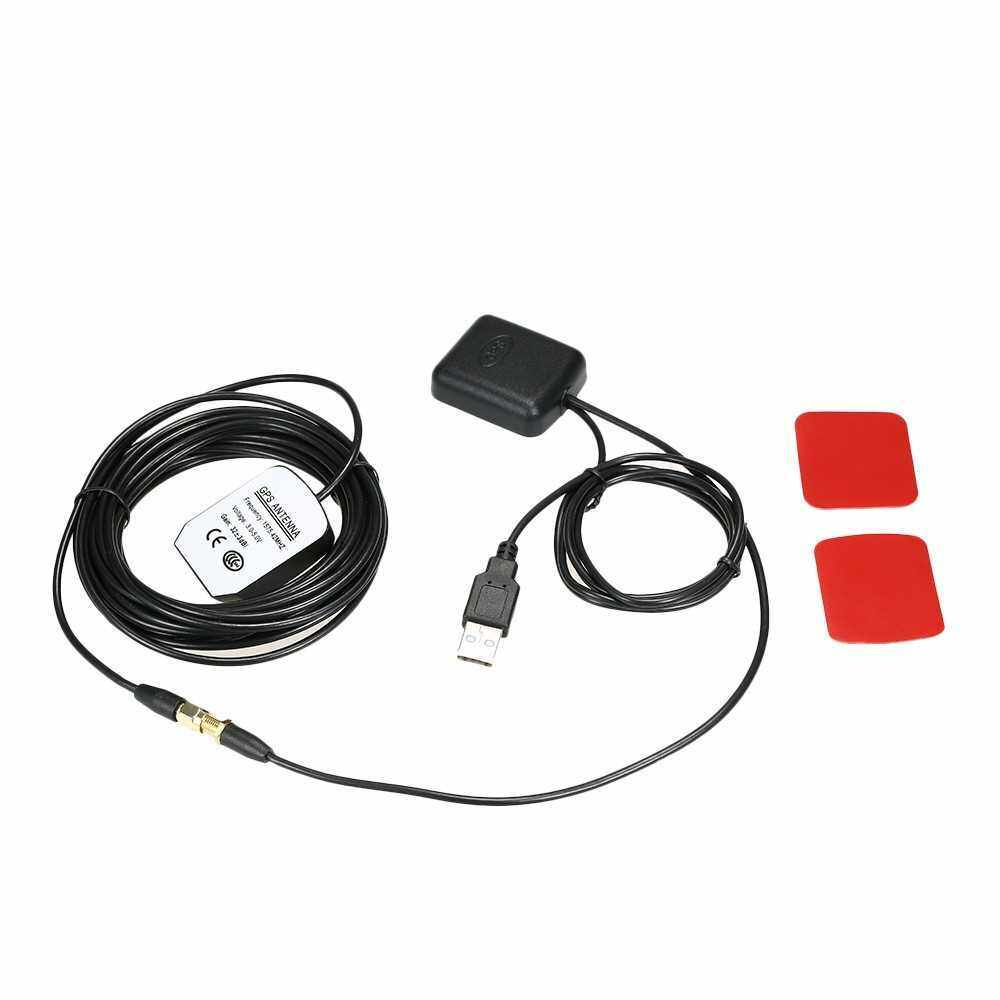 Car GPS Signal Antenna Amplifier Booster with GPS Receiver + Transmitter 30DB for Phone Navigator (Standard)