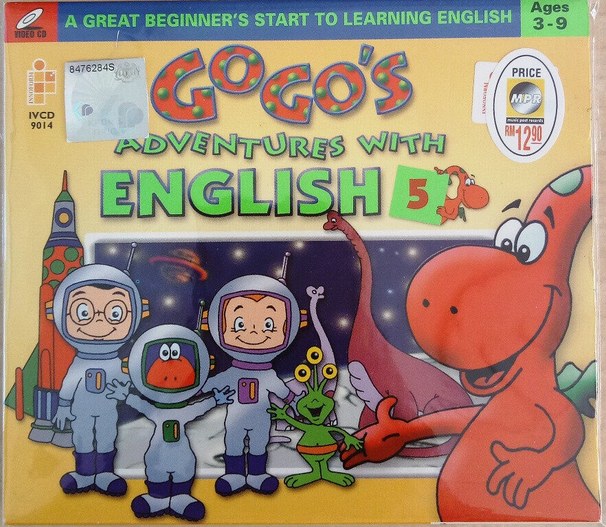 Gogo\'s Adventures With English Vol.5 VCD Age 3-9