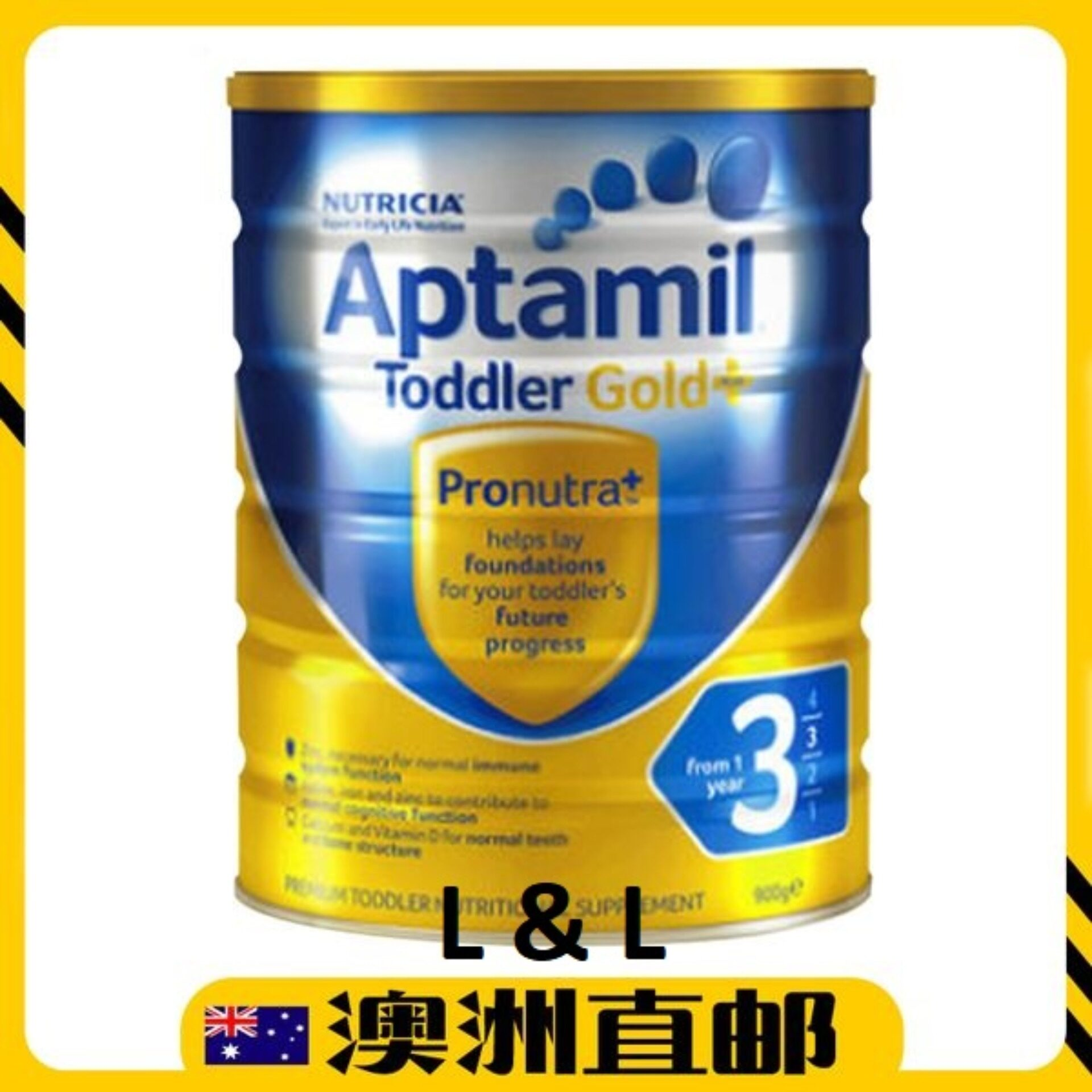 [Pre Order] Australia import Apt amil Gold+ Formula Step 3(from 1 years +) 900g