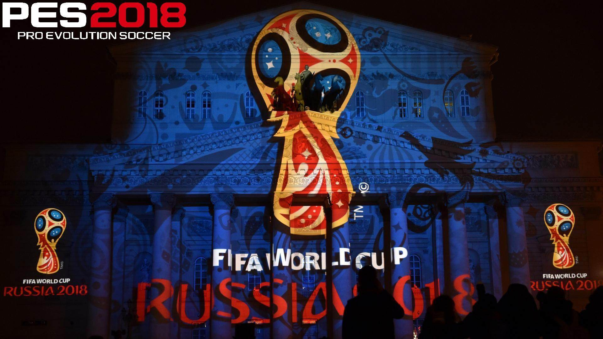 Ps2 PES 2018  Patch Russia 2018