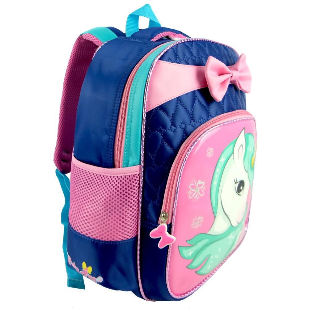 Poly-Pac PK1937 14 Inch Kindy School Bag - Navy