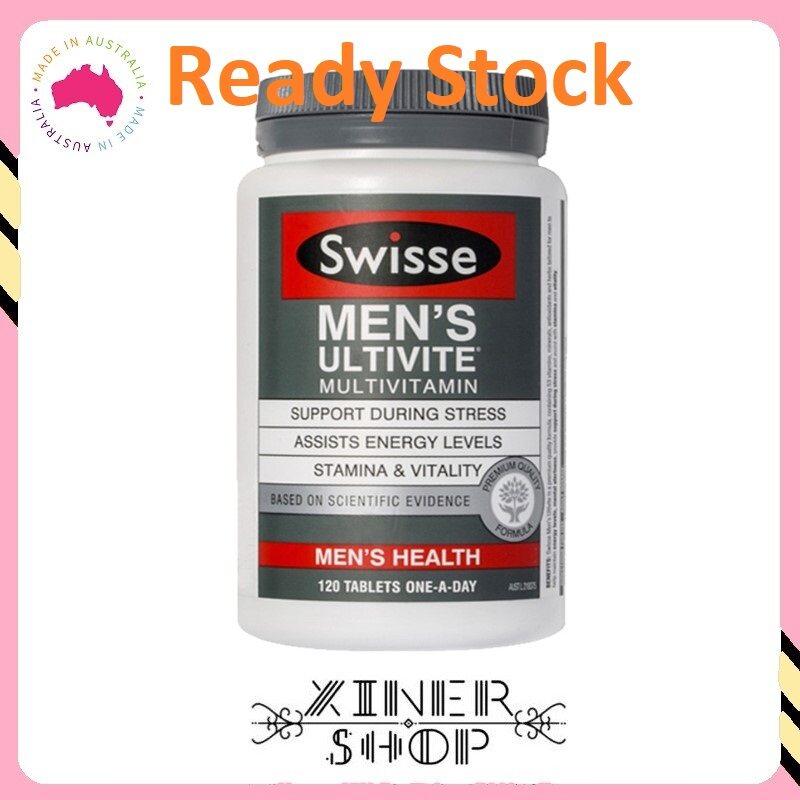 [Ready Stock EXP Date : 08/2022] Swisse Men's Ultivite Multivitamin ( 120 Tablets ) (Made In Australia)