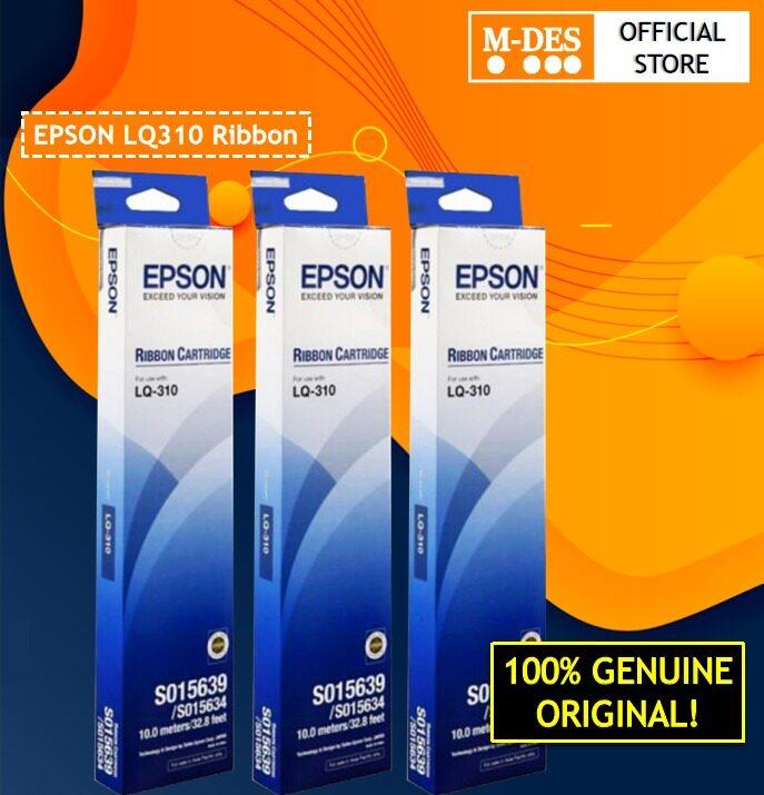 Epson LQ310 (S015639) ORIGINAL RIBBON 3pcs