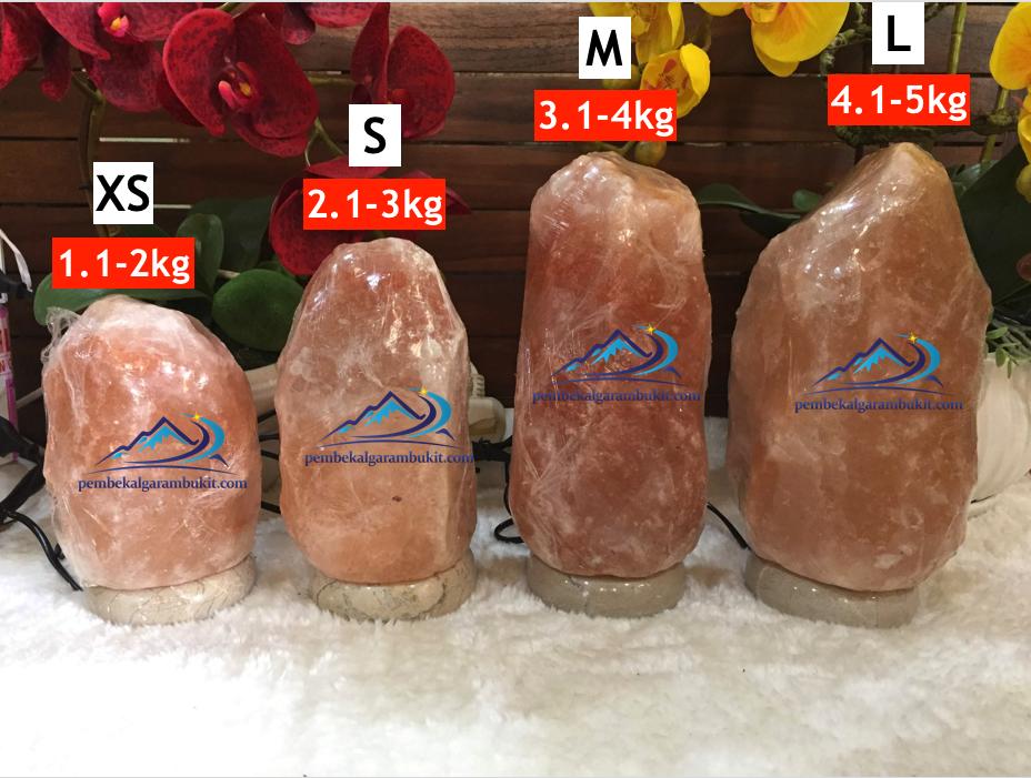 Lampu Garam Bukit Himalaya Himalayan Salt Lamp