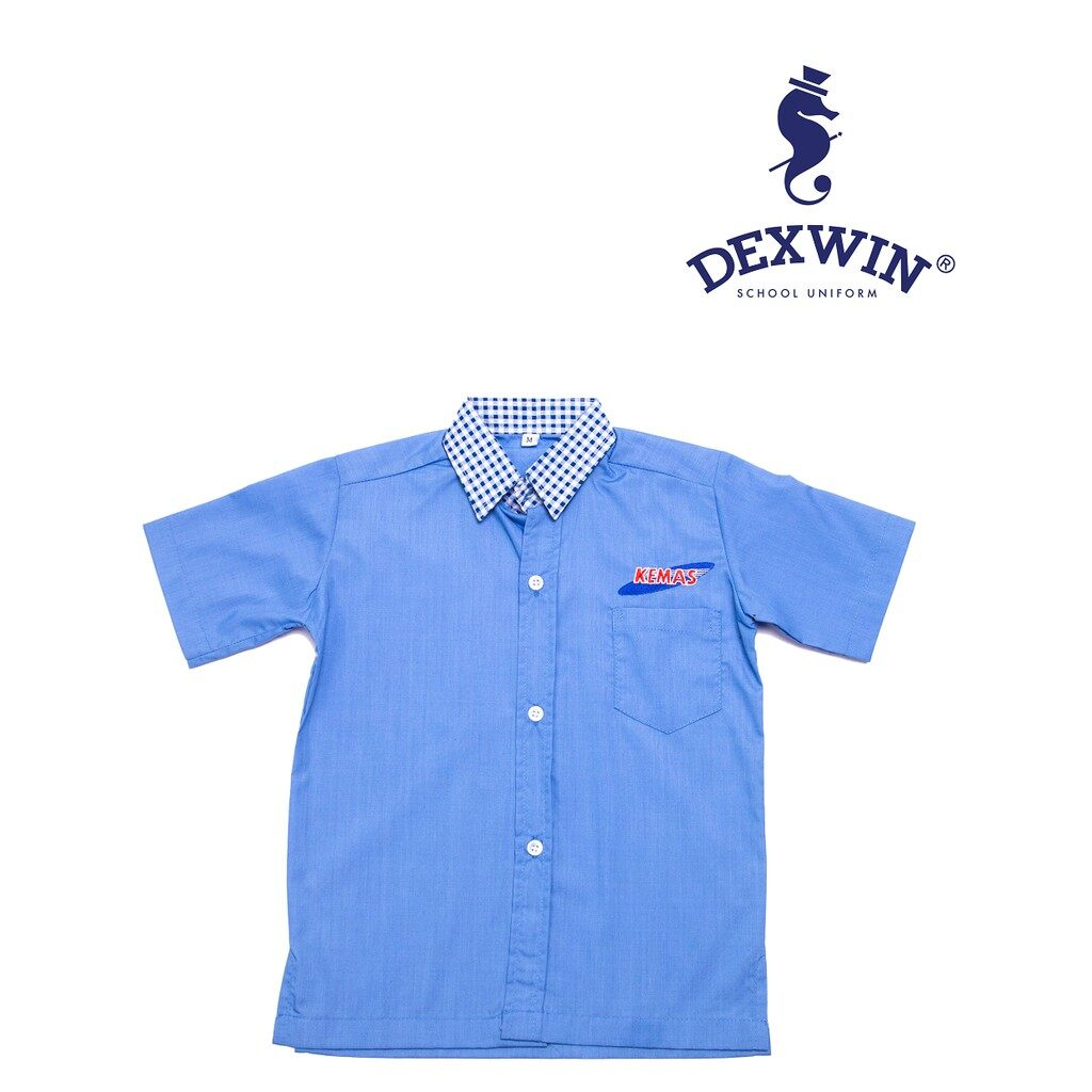 baju tadika kemas lelaki kain cotton kemeja (baju sahaja)