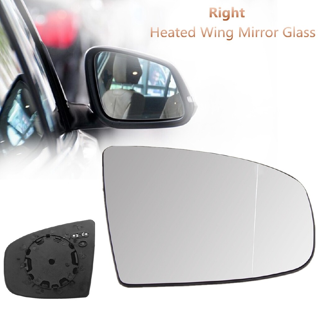 Automotive Tools & Equipment - Right Driver Side Electric Heated Wing Mirror Glass For BMW X5 X6 E70 E71 07-16 - Car Replacement Parts