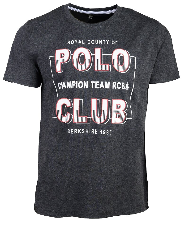 RCB POLO CLUB MEN ROUND NECK TEE RMRN11076-BB 0Q4