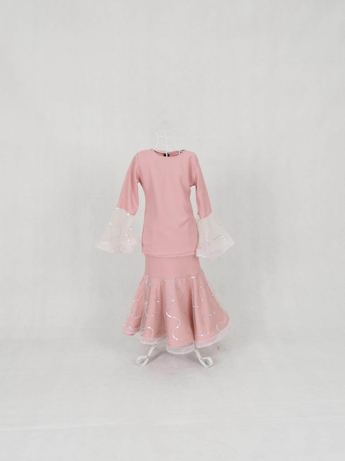 Muslim Kid Chiffon Budak Baju Kurung / Misra Chiffon Bling Baju Kurung Kid (7-12Years) / Girls Dresses / Kanak-Kanak / Raya 2020 / Ready Stock / Murah / Ship from Malaysia / Hot Product