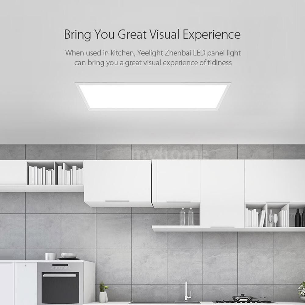 Lighting - ULTRA Thin LEDs Panel Light Mijia APP Remote Control Dustproof Ceiling Lamp for Bedroom - WHITE-SIZE 2 / WHITE-SIZE 1