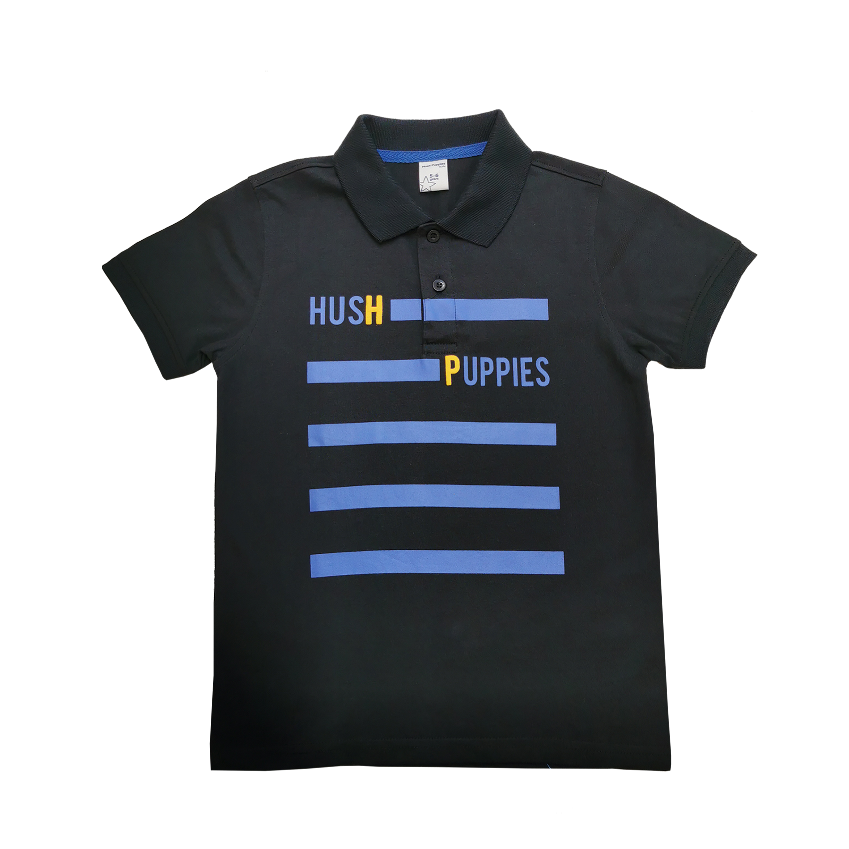 Hush Puppies Ryker Boy Polo With Graphic Print  HBP039357