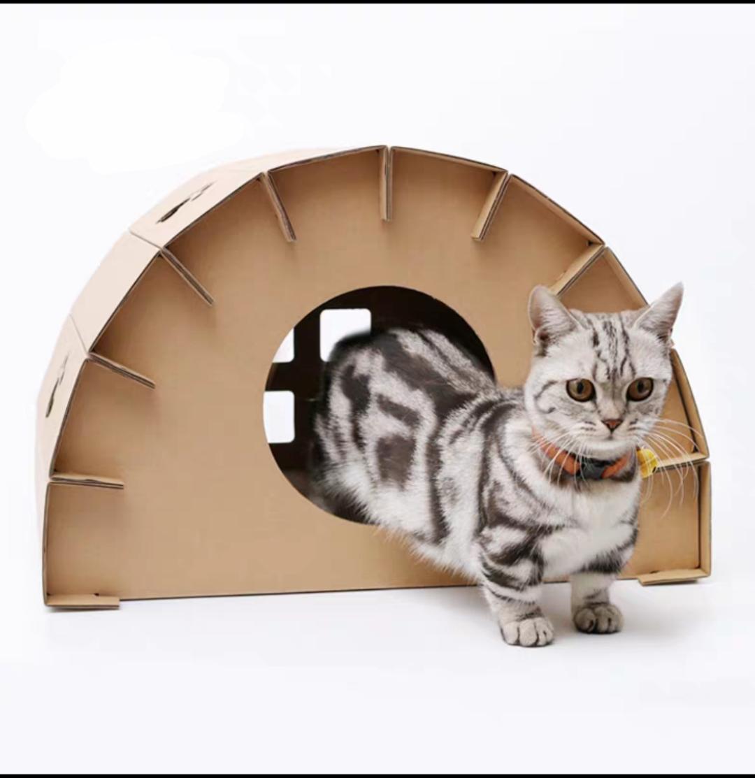 (NEET NEKO) Cat Dome with Scratcher / Cat House