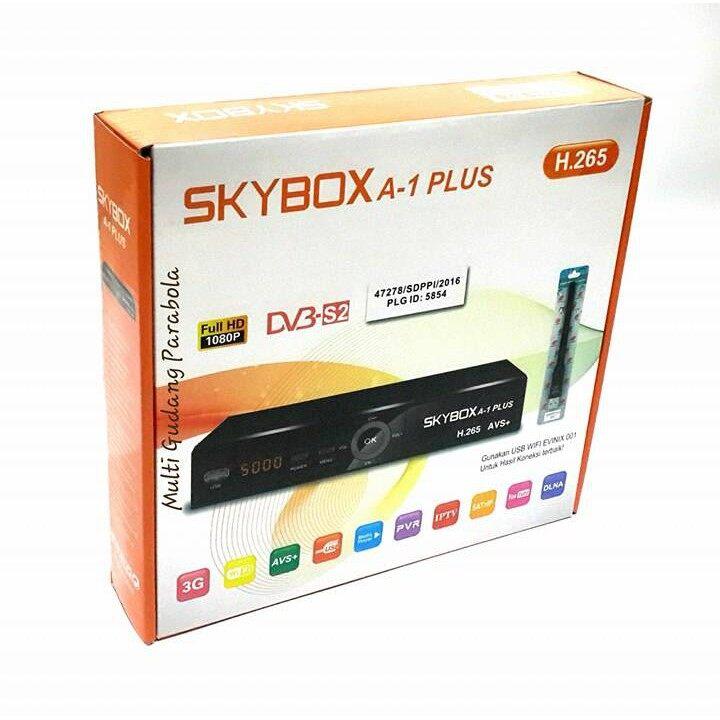 Skybox A1 Plus H 265 HEVC + AVS receiver