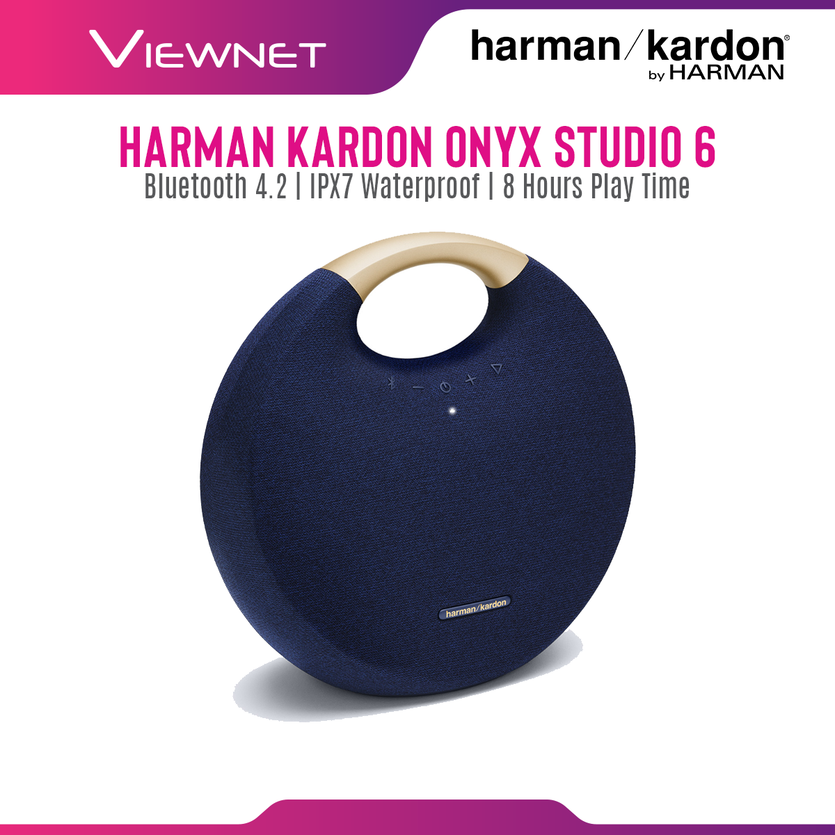 Harman Kardon Onyx Studio 6 Portable Wireless Bluetooth Speaker
