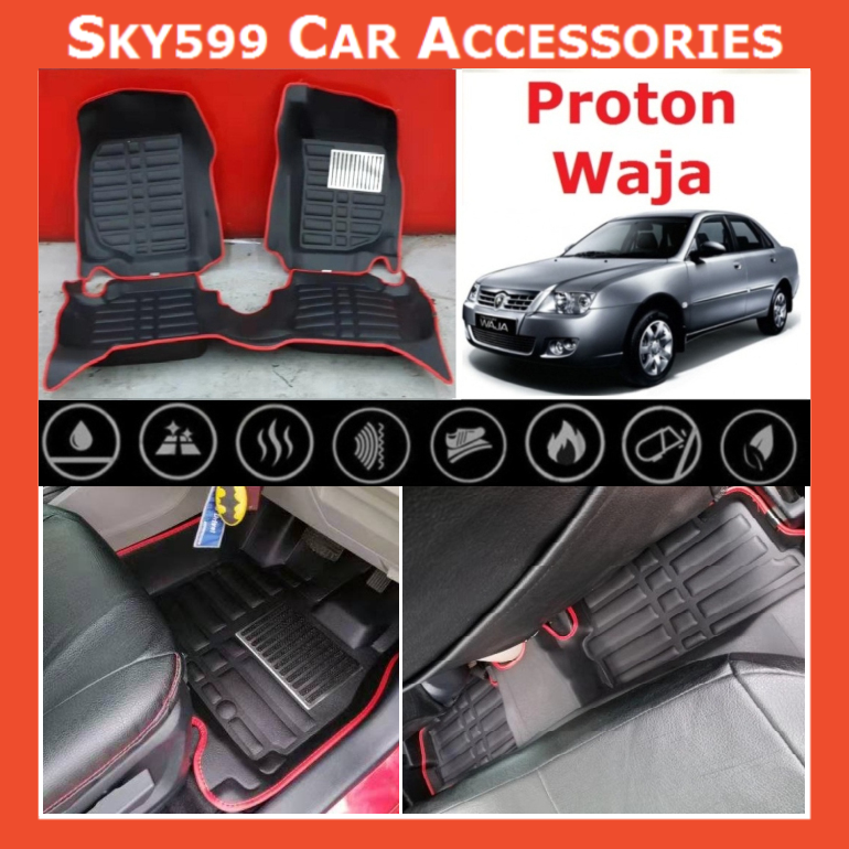 Proton Waja 5D Car Floor Mat/Carpet