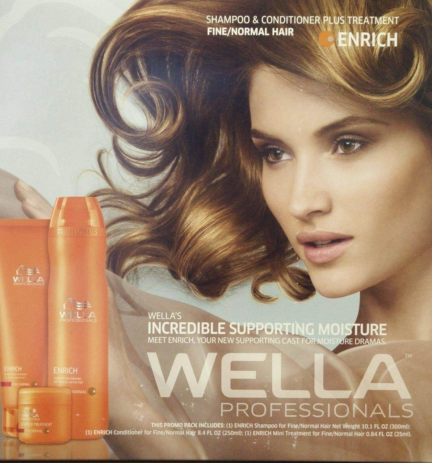 Wella Professional Enrich Conditioner (for Normal/Thick Hair) 200ML/1000ML