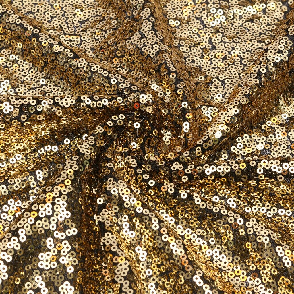Lighting and Studio Equipment - 4X6FT Gold Sequin Photo Backdrop Wedding Photo Booth Wall Photography Background - Camera Accessories