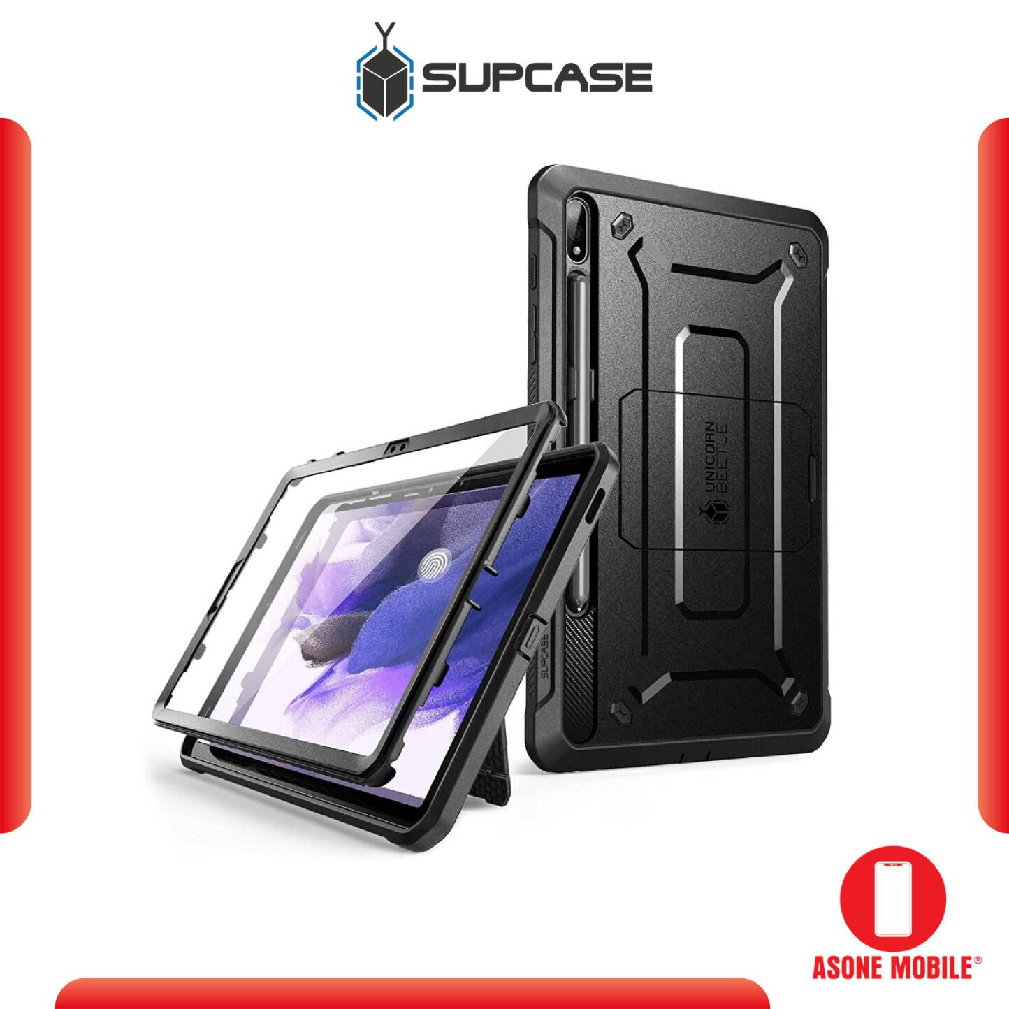Original SUPCASE Galaxy Tab S7 FE 12.4 inch (2021) Unicorn Beetle Pro Rugged Case - Black