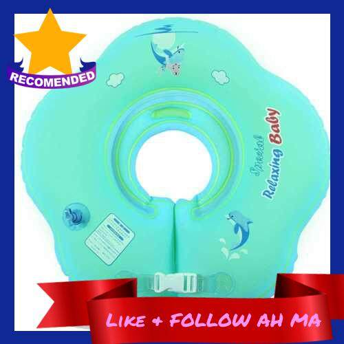 Best Selling Swimming Flotation Ring Baby Swimming Ring Collar Double Airbags Thickening Inflatable Floats Circle for Infant Toddler Newborn Child (L)