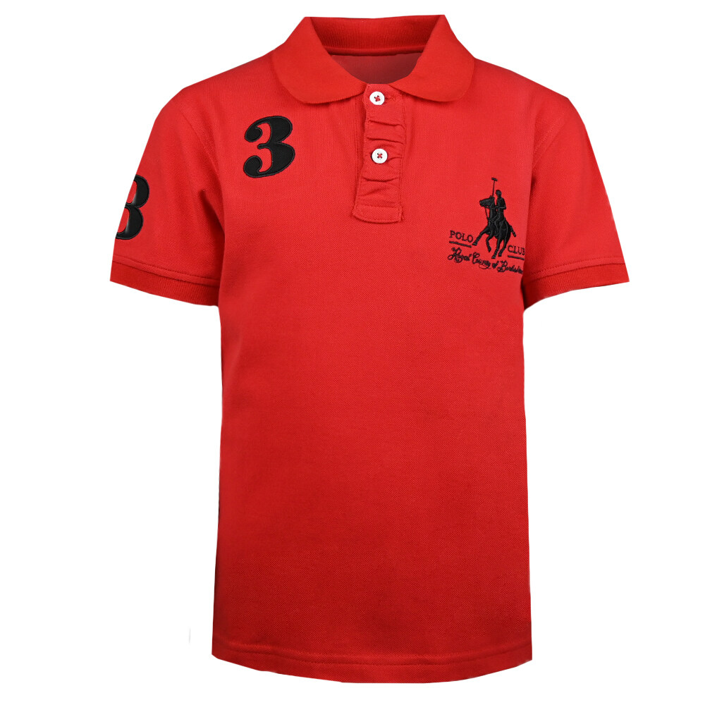RCB POLO CLUB BOYS POLO TEE RBTS10214 OOH