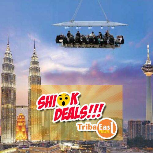 Kuala Lumpur Dinner in the Sky (Economy Class)