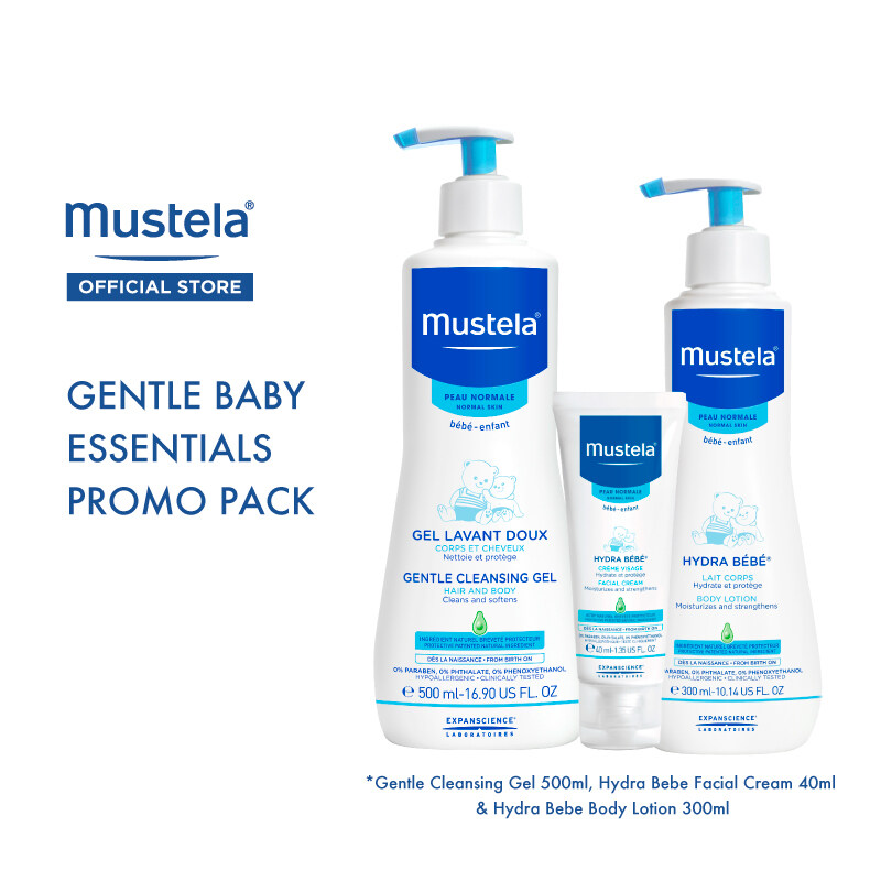 MUSTELA Gentle Baby Essentials Promo Pack