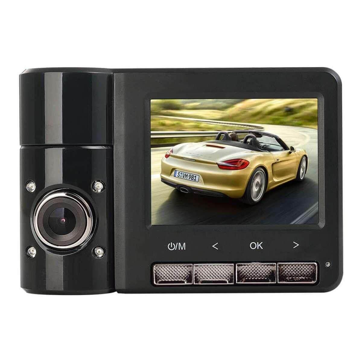 [Grab Driver Exclusive] ANYTEK B60 Dual Lens Camcorder 1080p HD Car Dash Video Driving Car Recorder DVR