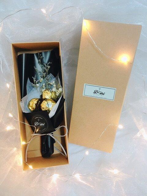 3-7 pcs Ferrero Rocher chocolate Bouquet Flower