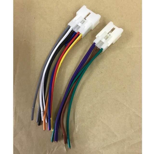 OEM Car Audio Player Soket For Toyota / Perodua Model