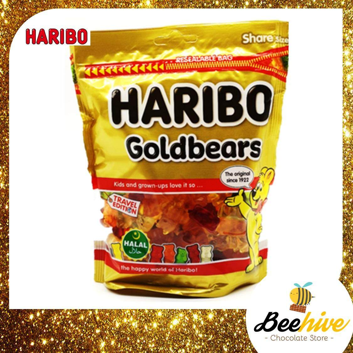 Haribo Gold Bears Gummy Candy 300g *Free Note Writing*