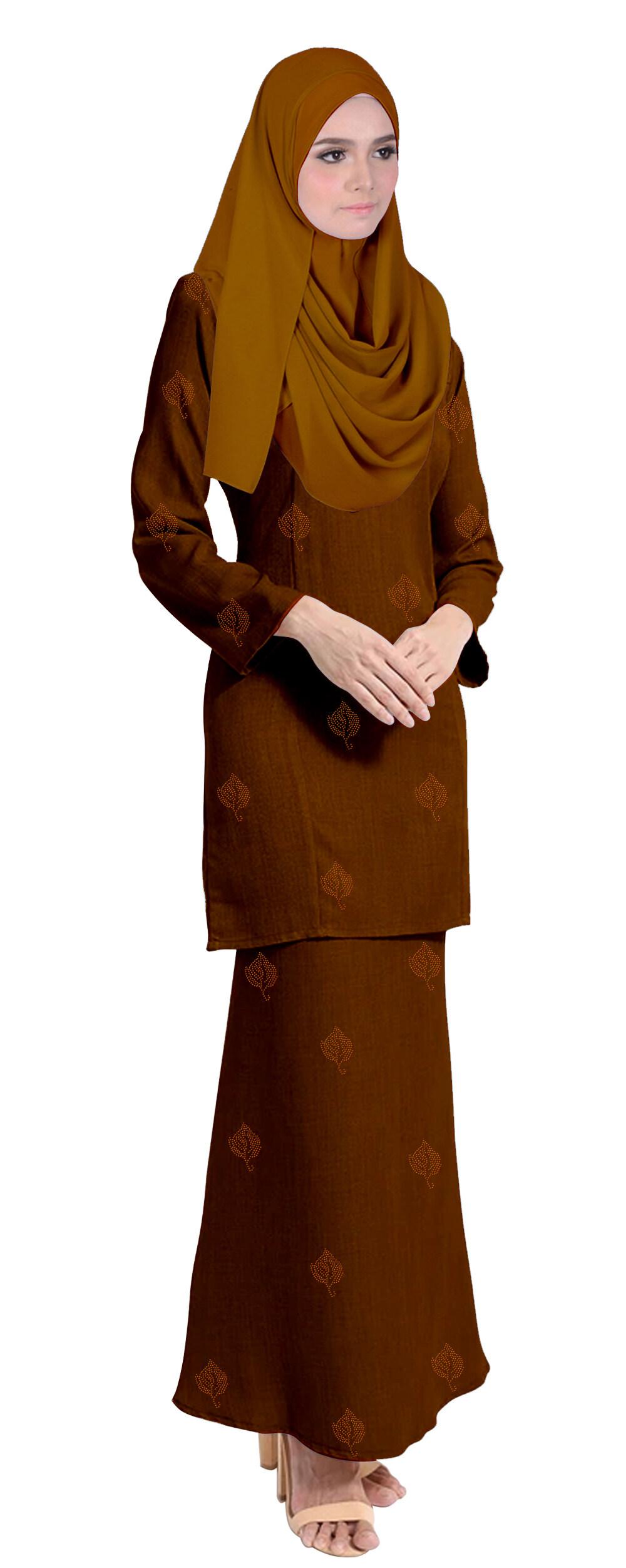 Fashion plain baju kurung for muslimah - Baju tahara
