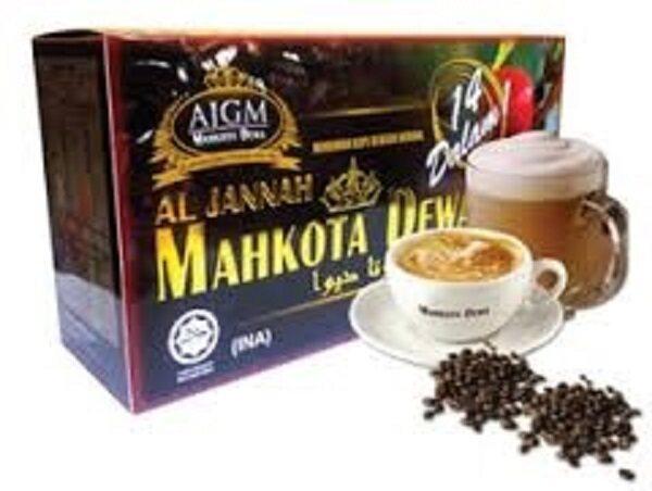 AJGM Al Jannah Mahkota Dewa Premix Coffee 14in1 (20's x 30g)