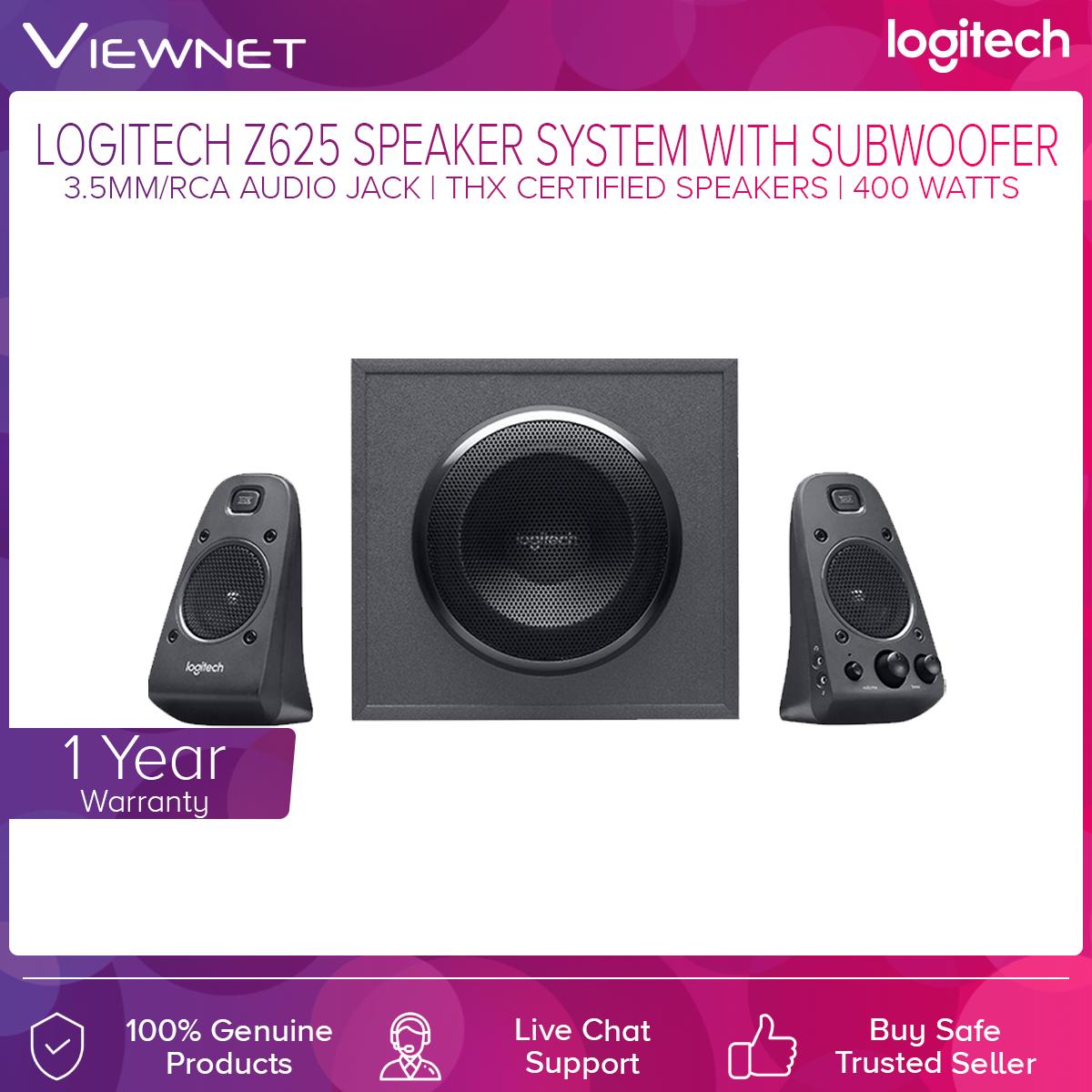 Logitech 2.1 Z625 Speaker (980-001297)