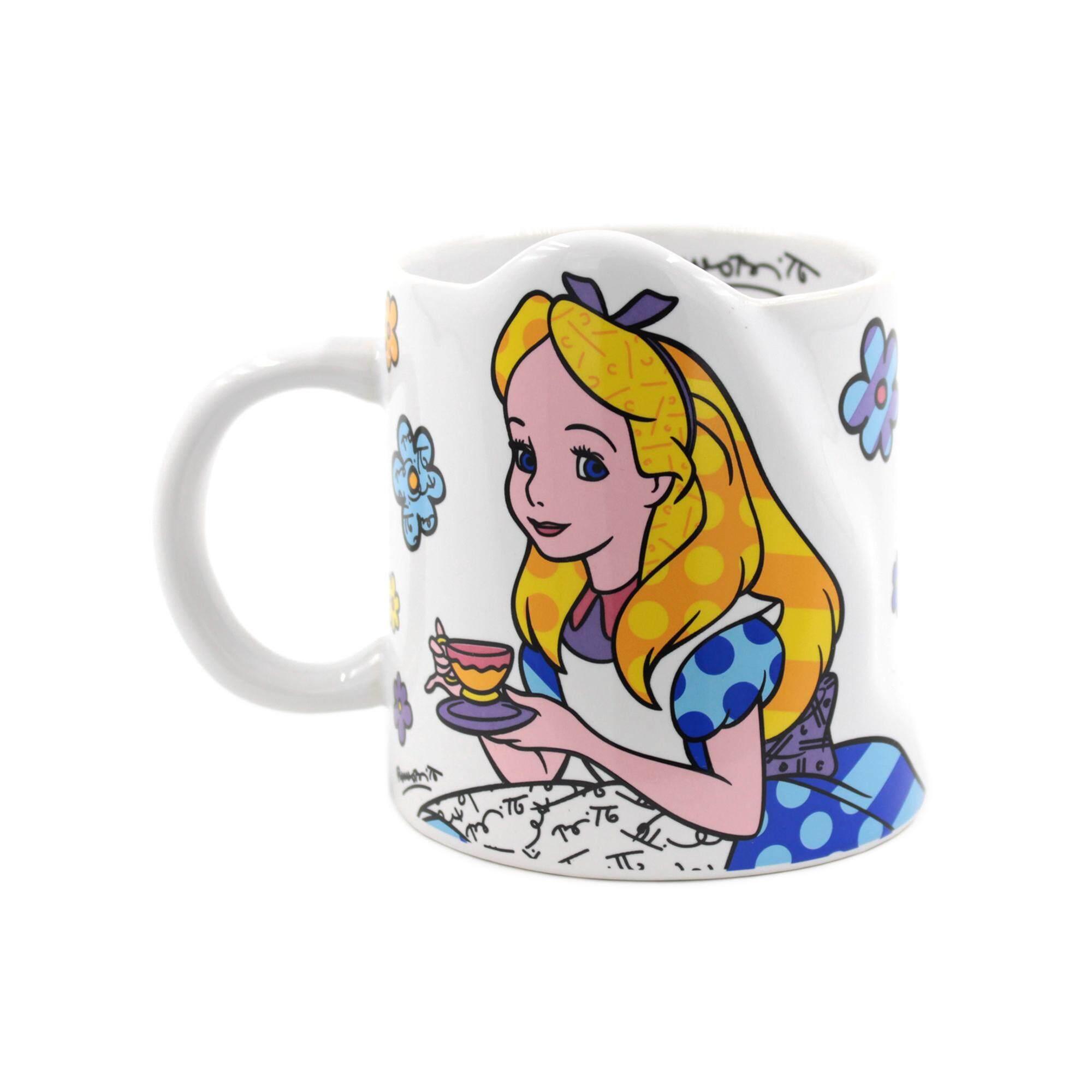 Enesco Disney Traditions Alice in Wonderland Collection - Britto Alice Mug