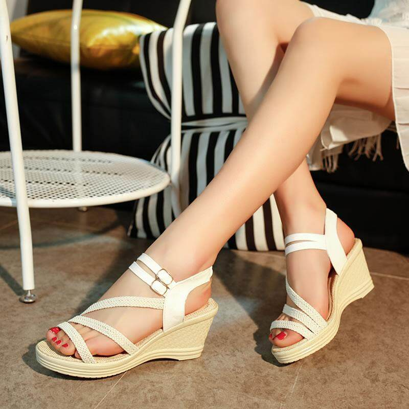 (Pre Order ETA End Feb CNY Break)(Pre Order ETA 14/2) JYS Fashion Korean Style Women Wedges Collection 506- 7965