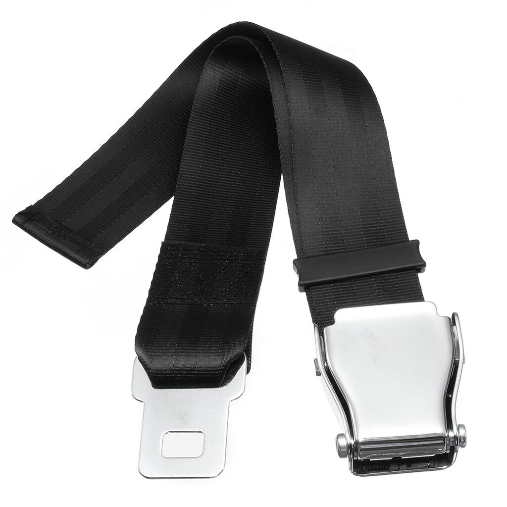 Tyres & Wheels - Universal Adjustable Auto Seat Belt Extension Extender Buckle Aircraft Airplane - Car Replacement Parts